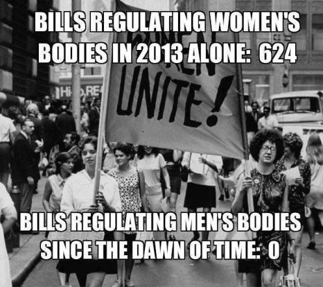 Bill's Regulating Women's Bodies