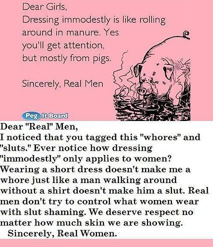 Dear Real Men
