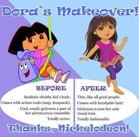 Dora's Makeover