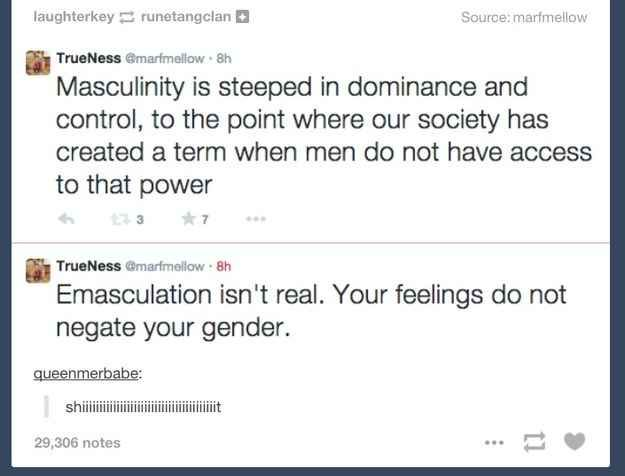 Emasculation Isn't Real