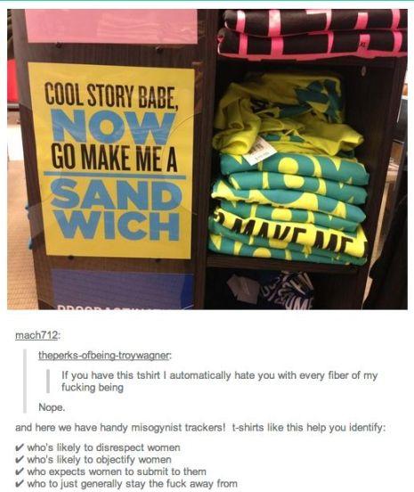 Go Make Me a Sandwhich T-Shirt