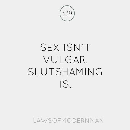 Sex Isn't Vulgar