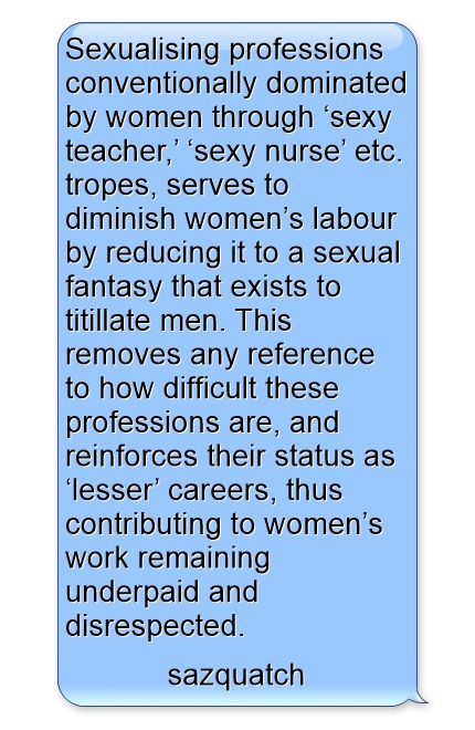 Sexualising Professions