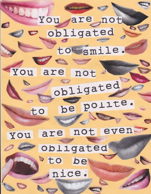 You Are Not Obligated