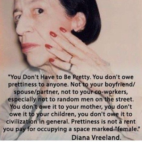 You Don't Owe Prettiness