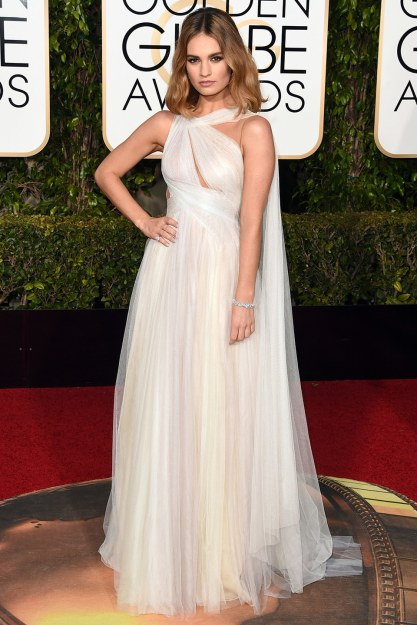 golden-globes-2016-lily-james